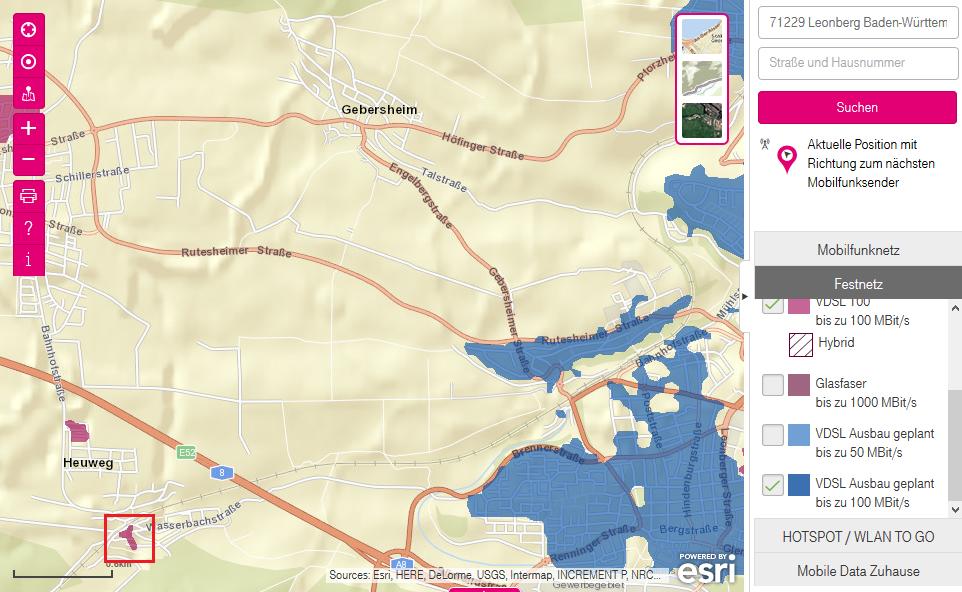 Telekom Glasfaserausbau Karte.Telekom Glasfaser Für Leonberg