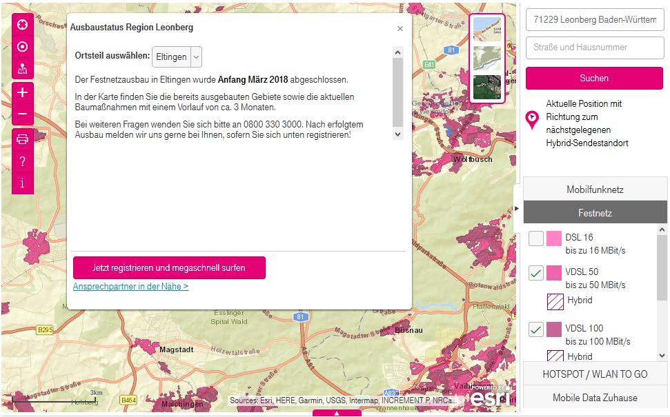 Telekom Glasfaserausbau Karte.Blog Glasfaser Für Leonberg